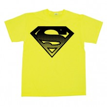 Superman Halftone Shield T-skjorte