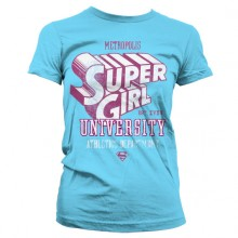 Supergirl Athletics Dept. Girly T-skjorte