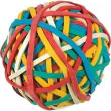 Gummistrikkball