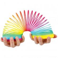 Regnbuefarget Slinky