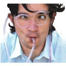 Sugerør-briller