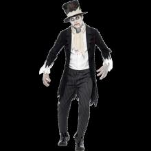 Til Døden Skiller Oss Zombie Brudgom Kostyme