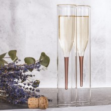 Champagneglass Inside Out 2-pack