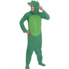 Krokodille-kostyme, voksen