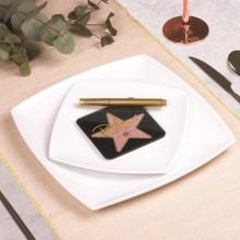 Bordplasseringskort Hollywoodstjerne 6-pakning