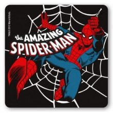 Drikkebrikker Marvel Spiderman Sort 6-pack