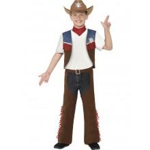 Cowboy Texas Karnevalsdrakt Barn
