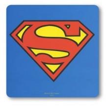 Drikkebrikker Superman Logo Blå 6-pack