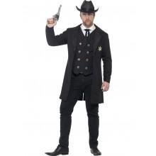 Sheriff Karnevalsdrakt