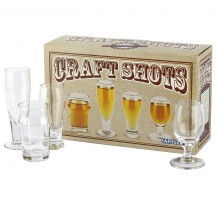 Shotglass Craft Beer 4-pakning