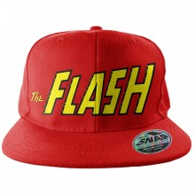 The Flash Logo Snapback-Kaps