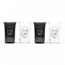 Star Wars Shotglass Stormtrooper 4-pakning