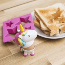 Eggeglass og Toast-Skjærer Enhjørning
