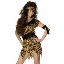 Huledame-kostyme, Leopardprint