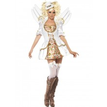 FEVER STEAM PUNK VICTORIAN CLOCKWORK ANGEL COSTUME