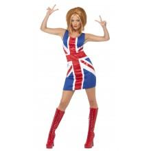 Ginger Spice Karnevalskostyme