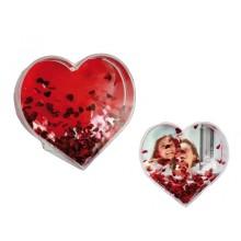 Hjerte med kort og hjerter