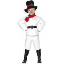 Snømann Karnevalskostyme Barn