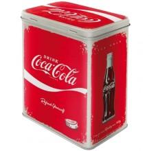 Metallboks Retro Coca-Cola