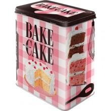 Blikkboks Retro Bake A Cake