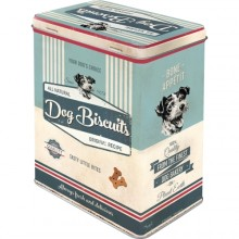 Blikkboks Retro Dog Biscuits