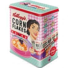 Blikkboks Retro Kellogs Cornflakes
