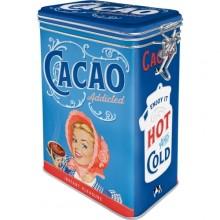 Metallboks Retro Cacao Addicted