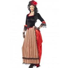 Kostyme Autentisk Western Town Sweetheart