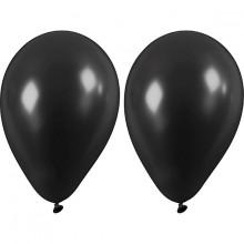 Svarte Ballonger 10-pakning