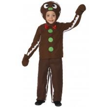 Pepperkakemann Karnevalskostyme Barn