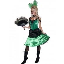 Autentisk  Saloon Kostyme Dame