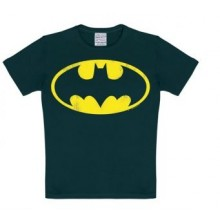 Batman Logo T-Skjorte Barn Sort