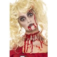 Zombie Make Up-Sett Med Blodkapsler