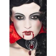 Vampyrsminke Sett Dame