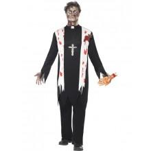 Zombie Prest Kostyme