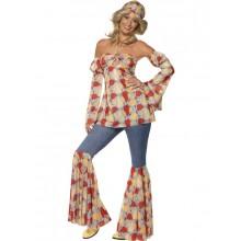 Vintage Hippie 1970-talls kostyme