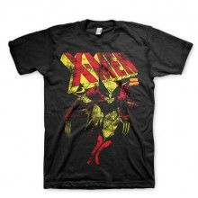 T-Skjorte X-Men Distressed