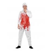 Blodig Kriminaltekniker Karnevalskostyme