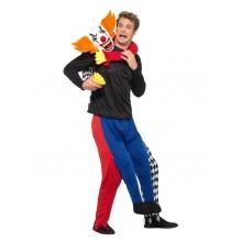 Piggyback Kidnappende Klovn Karnevalskostyme