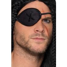 Øyelapp Pirat Svart