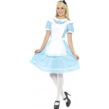 Prinsessekjole Karnevalskostyme Blå