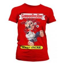T-Skjorte Garbage Pail Kids Wacky Jackie Dame