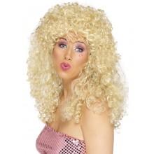 Parykk Boogie Blond