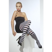 OPAGUE TIGHTS SVART & HVIT