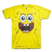 T-Skjorte Sponge Happy Fjes