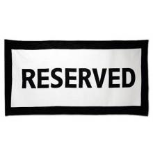 Håndduk Reserved