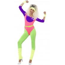 80-talls Treningsdress Karnevalskostyme