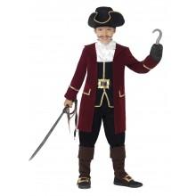 Piratkaptein Deluxe Kostyme Barn