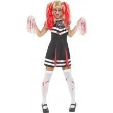Djevelsk Cheerleader Karnevalskostyme