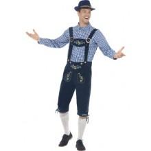 Tradisjonell Bayersk Oktoberfest-Drakt Deluxe